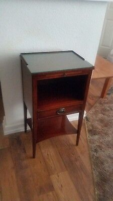 Kindel Oxford Mahogany Telephone Stand / Side Table / Very Good Condition