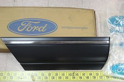 OEM FordSho Right RH Rear Door Trim Moulding  E9DB5425334BAW 1989-91 Taurus(Bin9