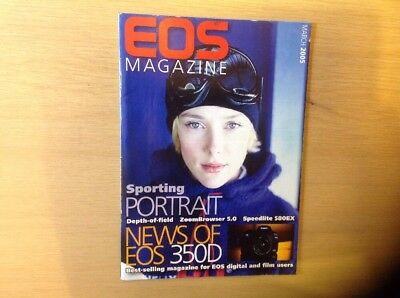 Eos Magazine - Dedicated To Canon Cameras March 2005