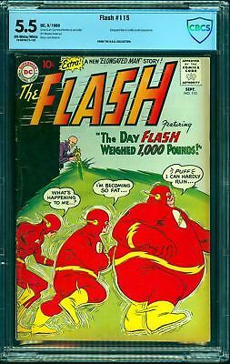 Flash #115 CBCS FN- 5.5 Off White to White DC Comics