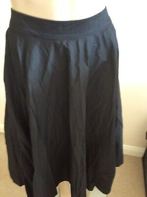 Lindy Bop Skirt Peggy Black Size 16 New And Tagged