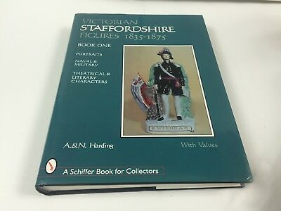 Victorian Staffordshire Figures 1835-1875 Book One A.&N. Harding With Values