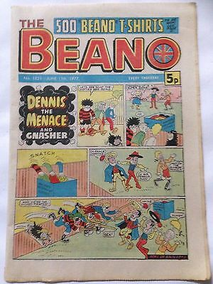 DC Thompson THE BEANO Comic. Issue 1821 June 11th 1977 **Free UK Postage**