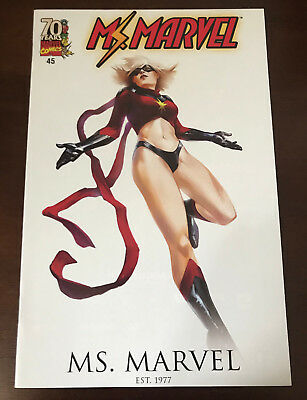 MS. MARVEL #45 Marco Djurdjevic 70th Anniversary VARIANT NM