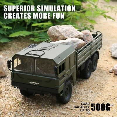 Helifar HB -NB2805 1:16 Military RC Truck Off-road Remote Control Car Army Green