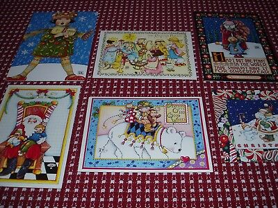 Mary Engelbreit Vintage Christmas Themed Greeting Cards