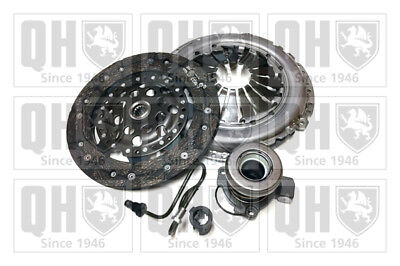 VAUXHALL MERIVA A 1.3D Clutch Kit 3pc (Cover+Plate+CSC) 03 to 09 Z13DTJ 215mm QH