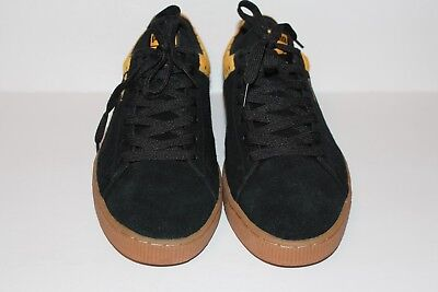 019d0e572510 PUMA ANJAN MEN S Suede Synthetic Green Yellow Black Sneakers US Sz ...