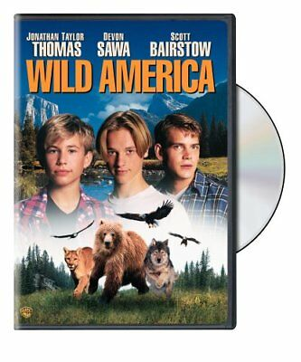 Wild America (DVD, 1997) Brand New! Region 1 NEW & SEALED!
