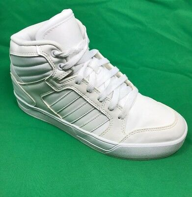 purchase cheap 35c1d b3fd5 ... shoes 851fc 11ba4  best price italy adidas neo label women high top  shoe all white fashion sz. 6.5