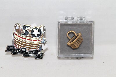 Longaberger New Basket Award Pins, Lot Of 2