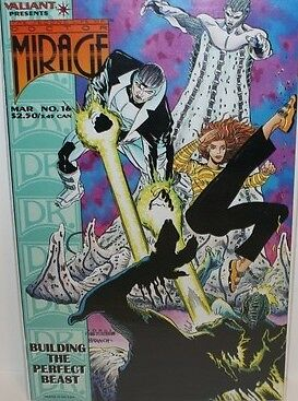 The Second Life of Doctor Mirage #16 (Mar 1995, Acclaim / Valiant) VF/NM