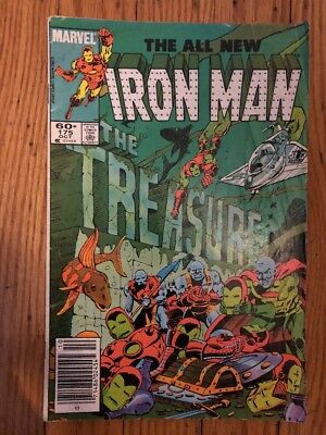 Iron Man #175 October 1983 FN/FN- See Pictures