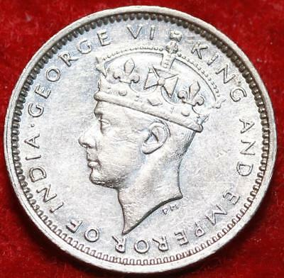 Uncirculated 1939 Hong Kong 5 Cents Foreign Coin