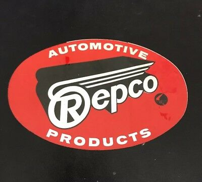 REPCO AUTOMOTIVE PRODUCTS Genuine Vintage Sticker 1980's