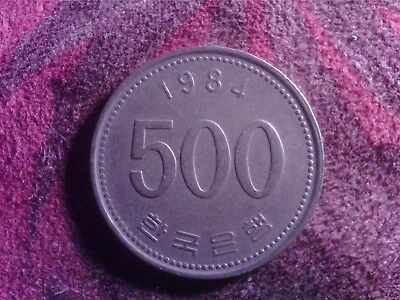 South   Korea  500   Won    1984     Sept21