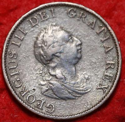 1799 Great Britain 1/2 Penny Foreign Coin