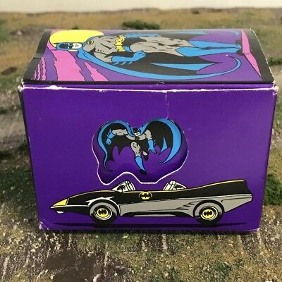 NEW Applause Vintage Super Powers DC Comics Batman Sticker Roll In Box 1988 S