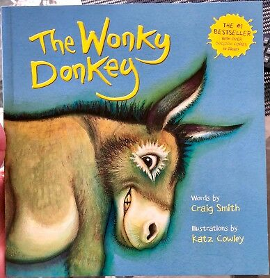 The Wonky Donkey by Craig Smith - Paperback - Brand New - Free Delivery