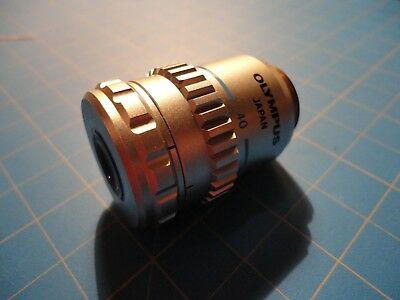 Olympus ULWD CDPlan 40X 0.5 NA 160/0-2 TL Phase Contract Microscope Objective