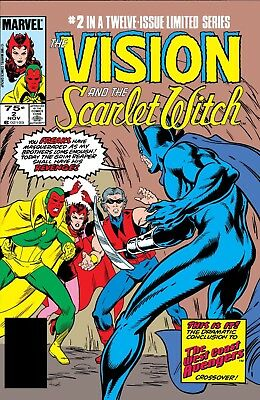 The Vision and The Scarlet Witch Vol.1 #2 - Brand New - Mint Condition