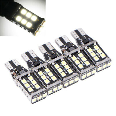 T15 W16W 921 Canbus Voiture Auto Safe LED Inverse Ampoules Blanc Pur 15 SMDFE