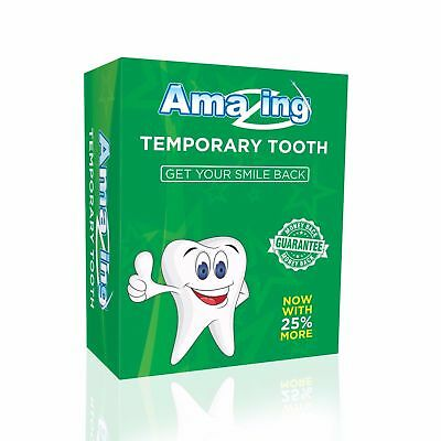 Amazing Temporary Tooth Kit #1 Replacement Tooth Repair Now with 25% More