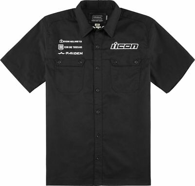 Icon Mens Kingsley Short Sleeve Shop Shirt