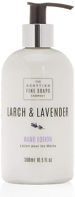 Scottish fine soaps Larch and Lavender Hand Lotion 300 ml