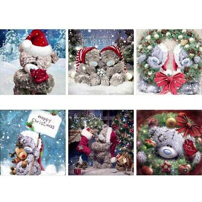 Bear 5D Diamond Painting Christmas Embroidery DIY Cross Stitch Craft Home Gift