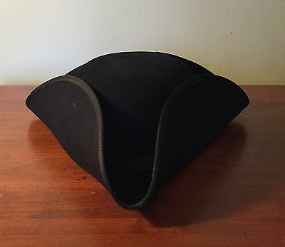 Colonial & Revolutionary War Style Tricorn Hat Made In USA