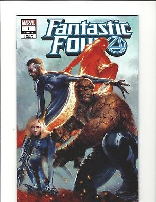 Fantastic Four #1 Dell'otto Variant Near Mint Marvel Comics 2018 New Villain