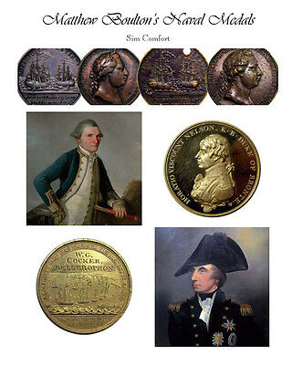 Matthew Boulton's Naval Medals, signed limited edition.