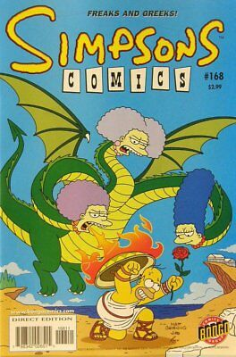 Simpsons Comics # 168 Near Mint (NM) Bongo Comics MODERN AGE