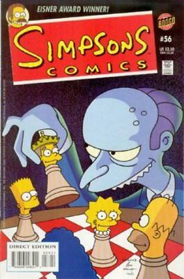 Simpsons Comics #  56 Near Mint (NM) Bongo Comics MODERN AGE