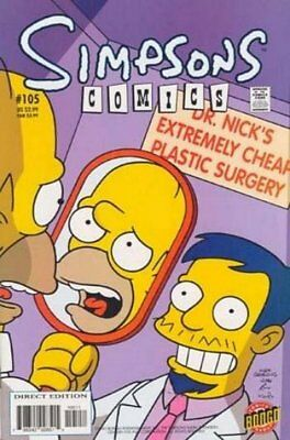 Simpsons Comics # 105 Near Mint (NM) Bongo Comics MODERN AGE