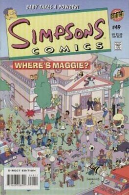 Simpsons Comics #  49 Near Mint (NM) Bongo Comics MODERN AGE