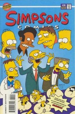 Simpsons Comics #  30 Near Mint (NM) Bongo Comics MODERN AGE