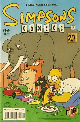Simpsons Comics # 160 Near Mint (NM) Bongo Comics MODERN AGE