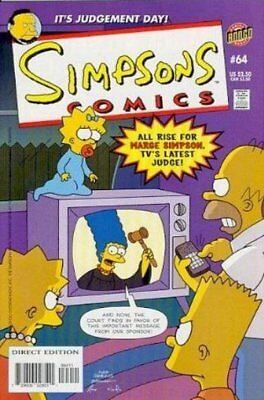 Simpsons Comics #  64 Near Mint (NM) Bongo Comics MODERN AGE