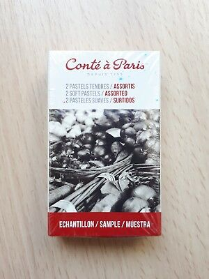 NEW Sealed Conte A Paris 2 Soft Pastels Assorted 003 Red 029 Blue