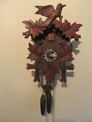 Helmut Kammerer Black Forest Cuckoo Clock Made In West Germany