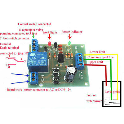 Liquid Level Controller Sensor Module Water Level Detection Sensor Component Hot