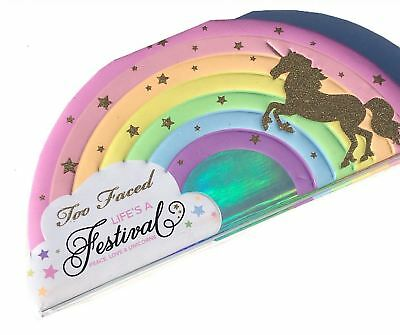 LIFE'S A FESTIVAL Eyeshadow Palette Peace Love & Unicorns by TOO FACED Cosmetics