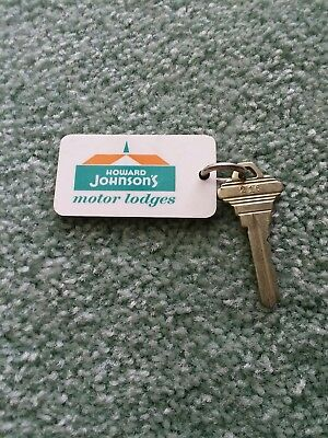 Vintage Howard Johnson Key & Fob