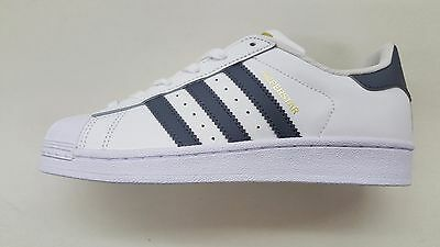 sports shoes 7cd68 7993d Adidas Superstar Foundation White Onix Grey Gold Big Kids Sneakers S81016