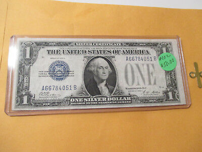 1928-A $1 Silver Certificate (Funny Back)