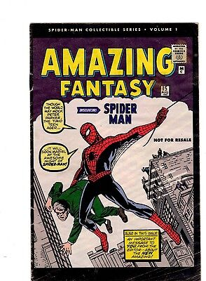 AMAZING FANTASY #15 REPRINT 1st Spider Man appearance - newspaper promo