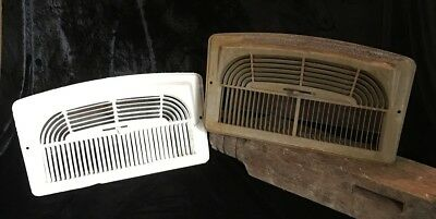 Vintage Wall Heat Register Metal Vent  Antique Heater Grate 12x6 ART DECO