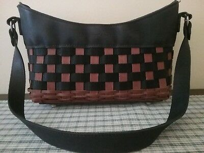 Longaberger 2009 ACHEIVER PURSE Consultants Only SALES Earned Black & Brown